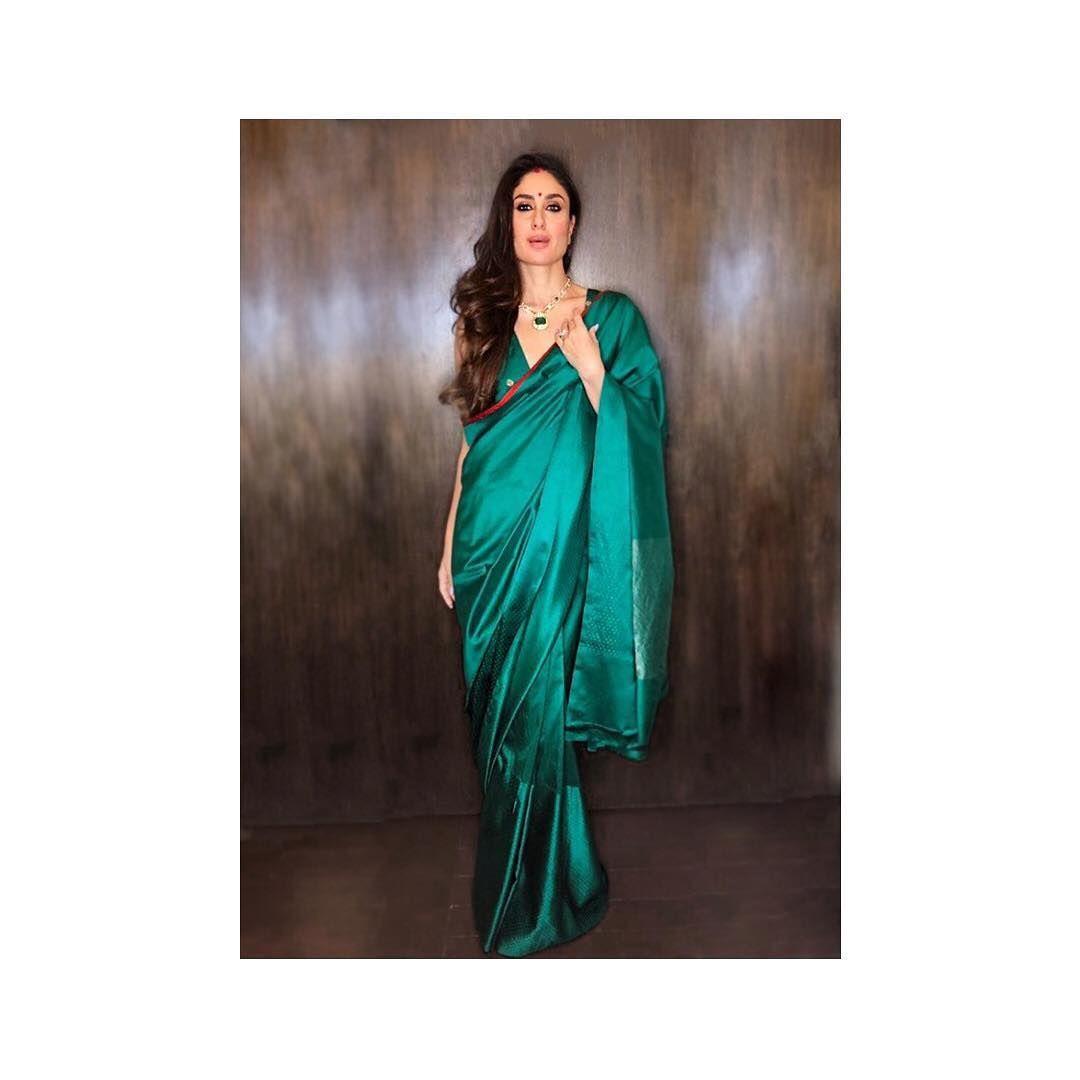 Luxury Green Saree Look Saree Blouse Designs Latest Saree Look Saree Blouse Designs