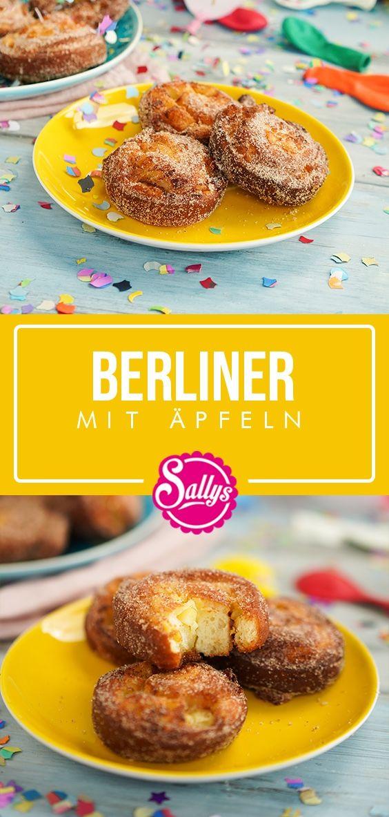 Apfelberliner #süßesbacken
