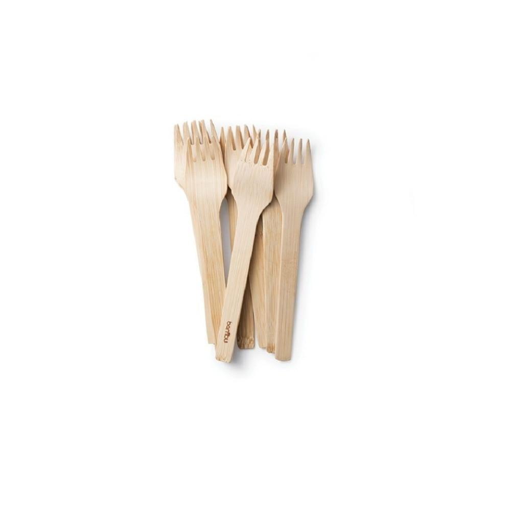 Veneerware Compostable Bamboo Forks Bulk  bambu  All Occasion Veneerware Bamboo Forks case of 250