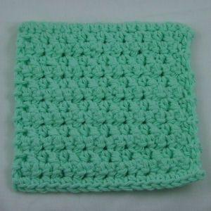 Knit Coaster Pattern : Image of Thermal Stitch Coaster ~ free pattern knit ...