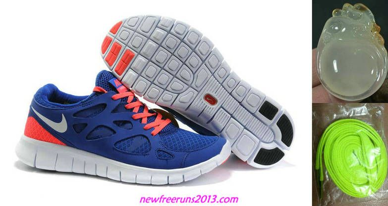 085137c3f9d6 Nike shoe · 2013 New Free Runs 2 Size 12 Drenched Blue White Solar Red