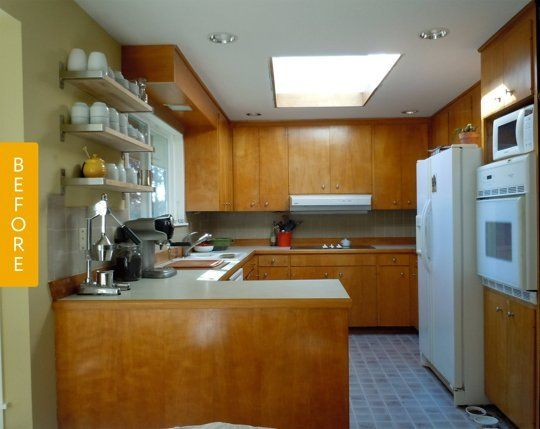 Before & After 1960S Kitchen Grows Up And Out — Kitchen Glamorous Remodeling Kitchen Design Decoration