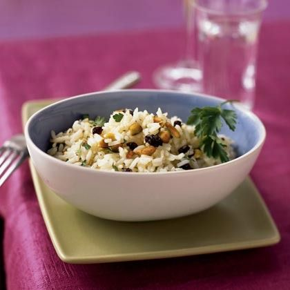 Pistachio Rice by Cooking Light