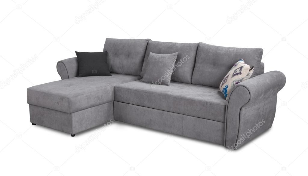 Corner Upholstery Sofa Set With Pillows Isolated On White Background With Clippi Ad Sofa Set Corner Upholstery Ad Sofa Upholstery Sofa Set Sofa