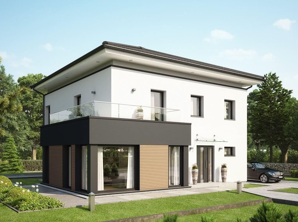 Moderne stadtvilla concept m 193 bien zenker for Moderne villen grundriss