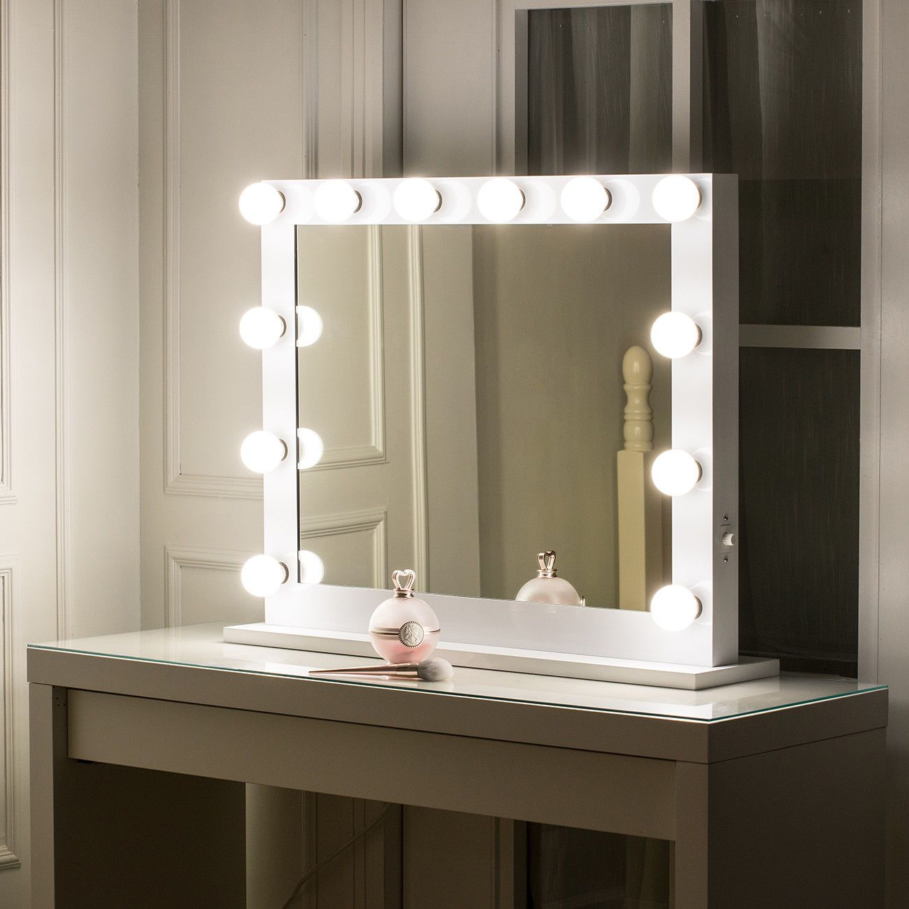 Hollywood Makeup Vanity Mirror With Lights Stage Large Beauty