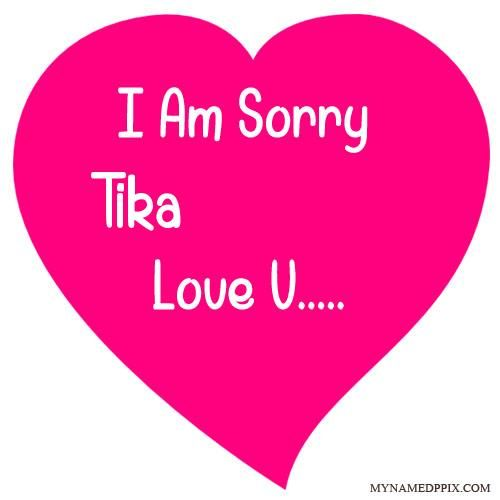 Specially Sorry Love Card With Name Image   Love cards ...