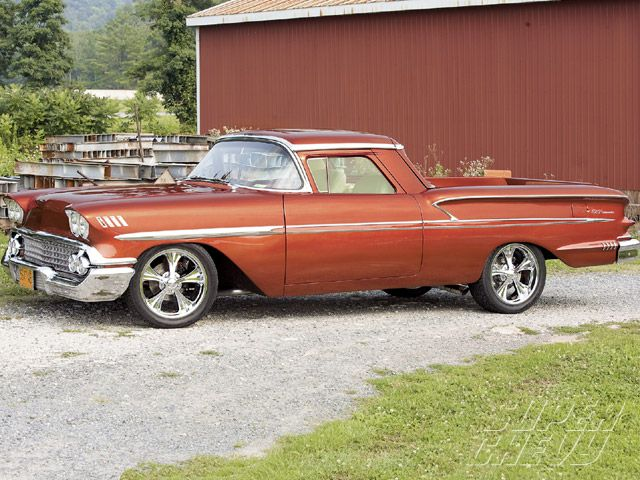 The 1958 Chevy El Camino That Never Was Classic Cars Trucks