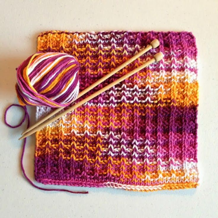 WhiMSy love: KNIT: Trio of Dishcloths | Crafts | Pinterest | Tejido ...