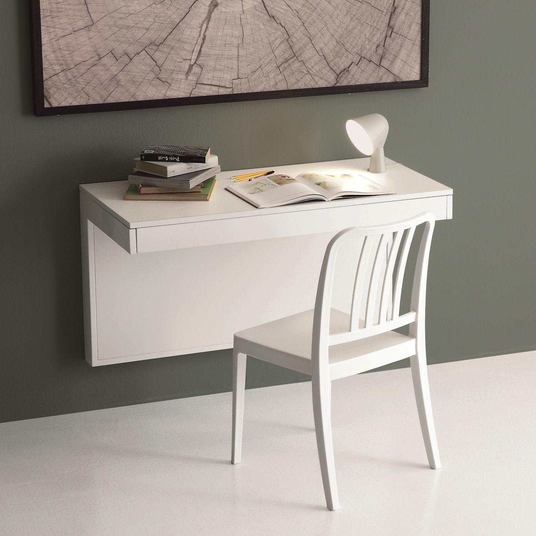 Kosmos Konsole Schreibtisch An Die Wand Montiert Auch Ausziehbar Haus Interieurs Schubladen Wand