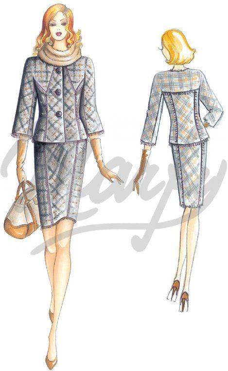 Our Patterns :: Annual Marfy 2011/2012 :: Autumn/Winter :: Mod. 2587 -