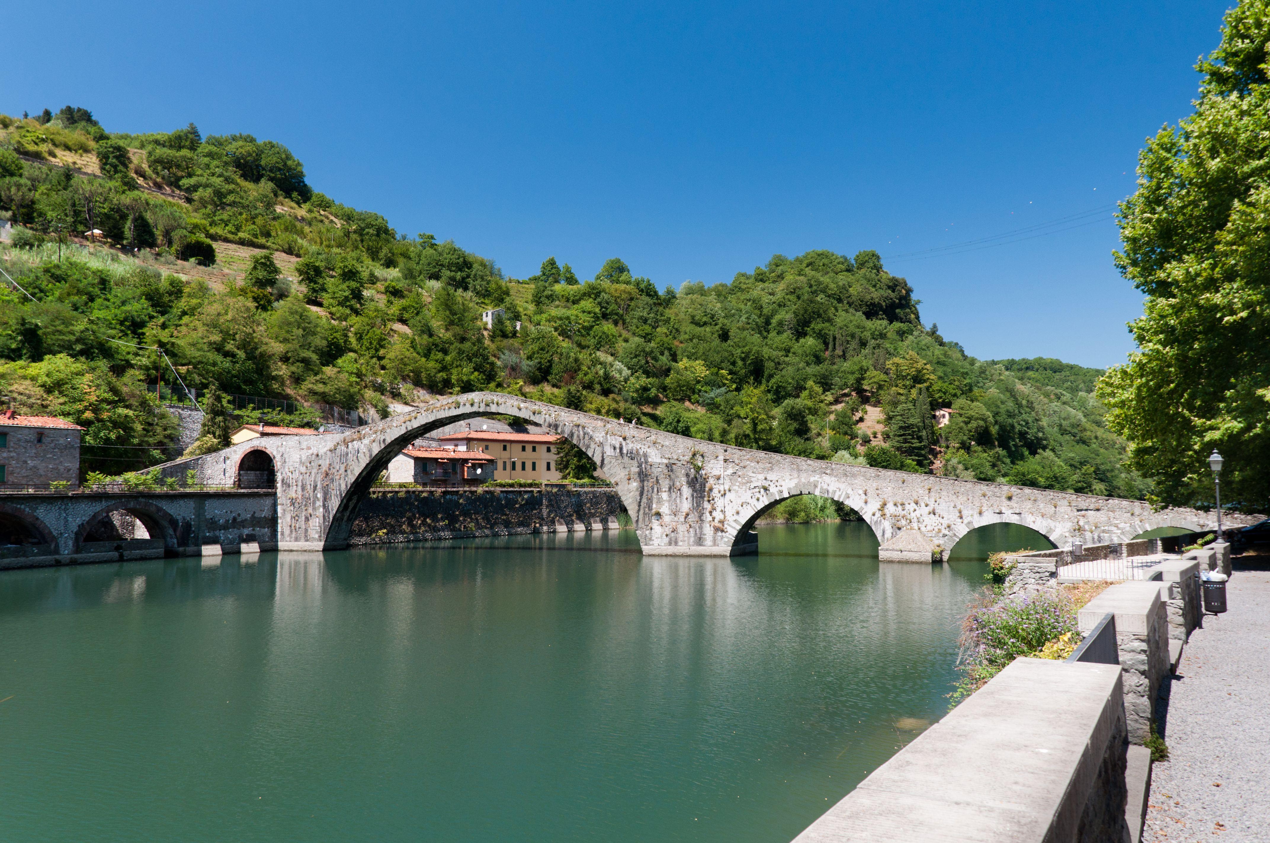 Ponte del Diavolo, Lucca   Toscana   Lucca, Lucca italy ...