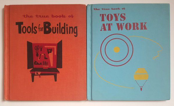 Childrens Press books from the mid-1950s for    via @SandiV
