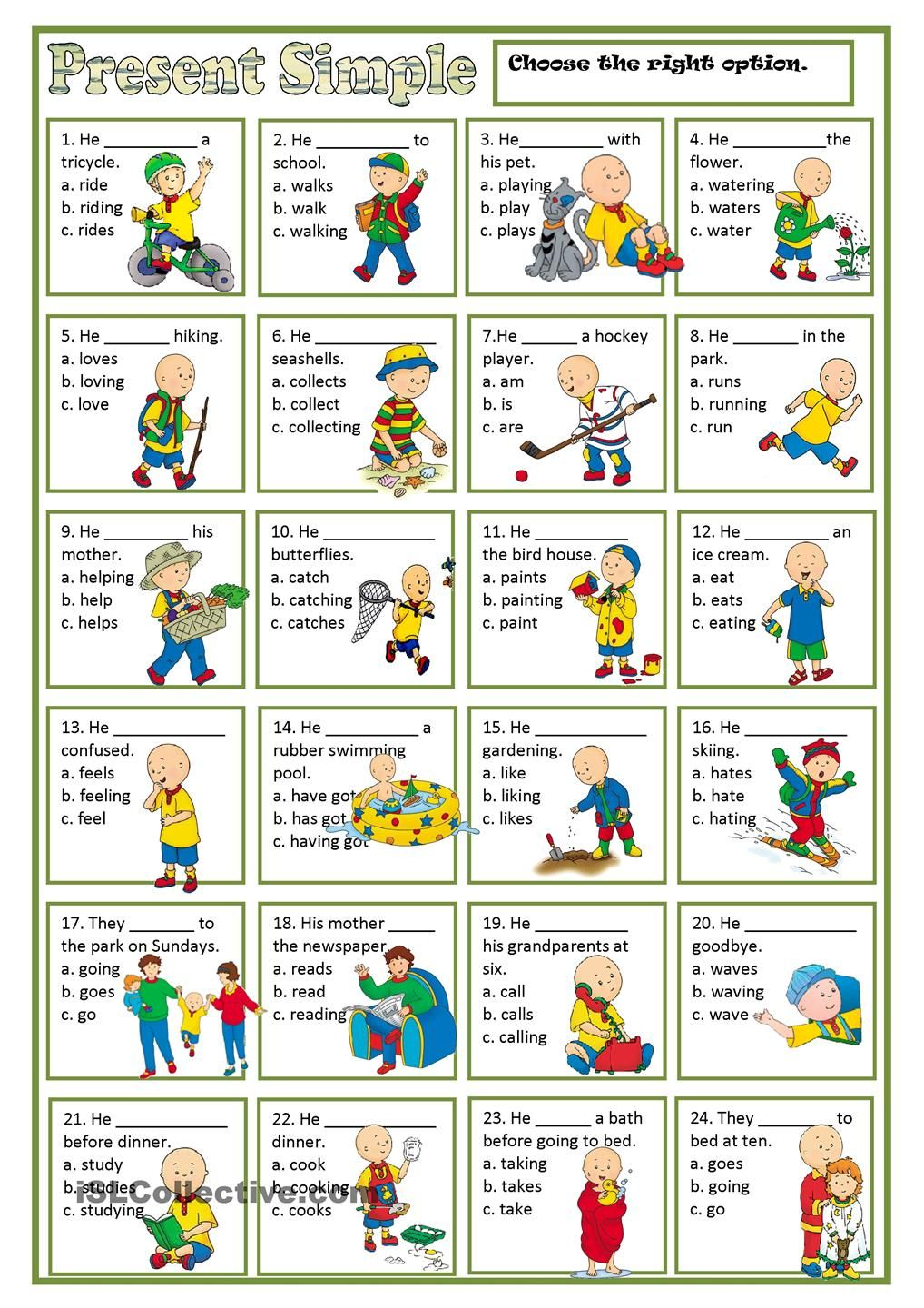 Present Simple English Activities English Lessons English Classroom [ 1440 x 1018 Pixel ]