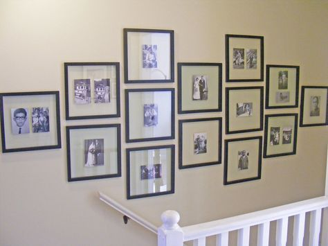 Pictures Of How To Hang Family Photos In A Hallway