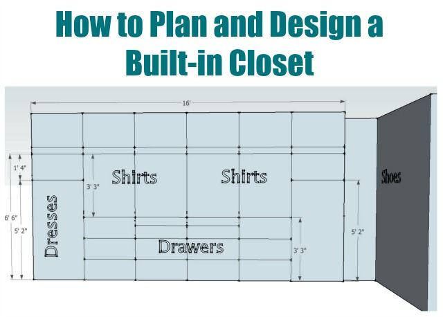 How To Plan And Design A Built In Closet