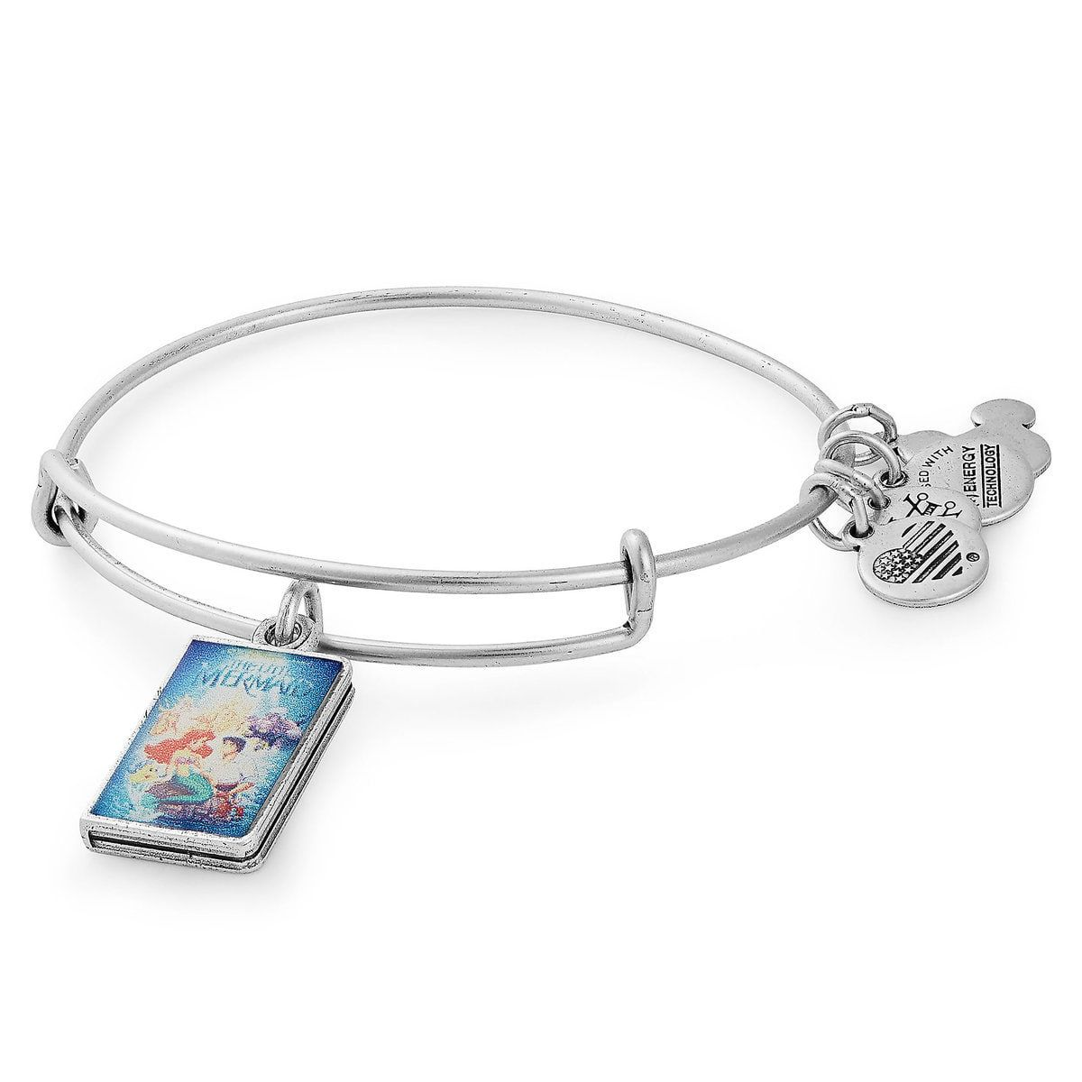 The Little Mermaid Vhs Case Bangle By Alex And Ani