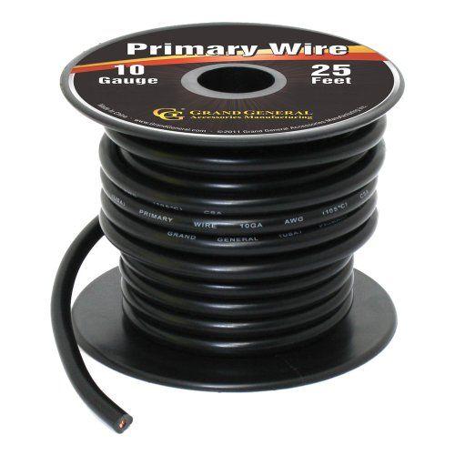 Grand General 55260 Black 10-Gauge Primary Wire Grand Gen... https://www.amazon.com/dp/B00INVF468/ref=cm_sw_r_pi_dp_x_MLpbybSGRZFF7