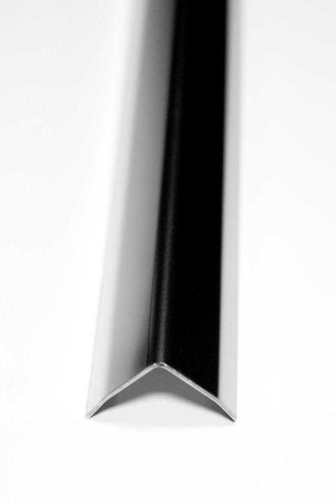 1x 250 cm eckschutzwinkel 60x60mm geb rstet edelstahl 3fach gekanntet v2a winkel jetzt bei. Black Bedroom Furniture Sets. Home Design Ideas