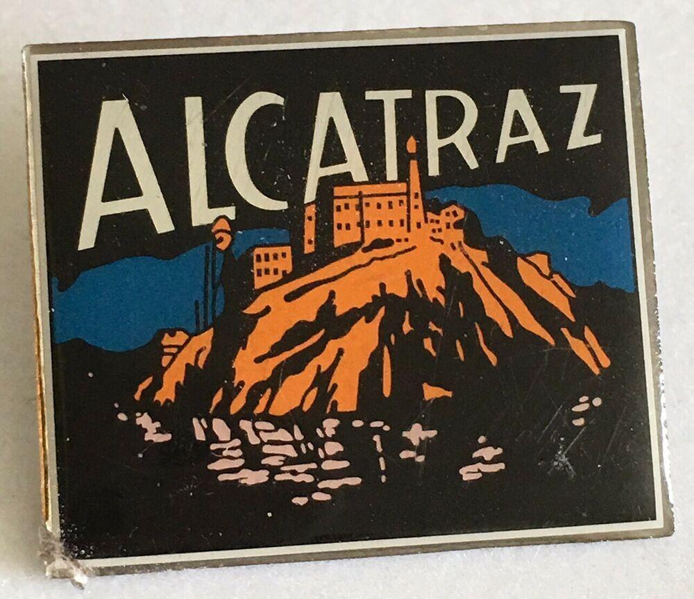 Alcatraz Prison Lapel Pin San Francisco Pinback A139 Ebay With