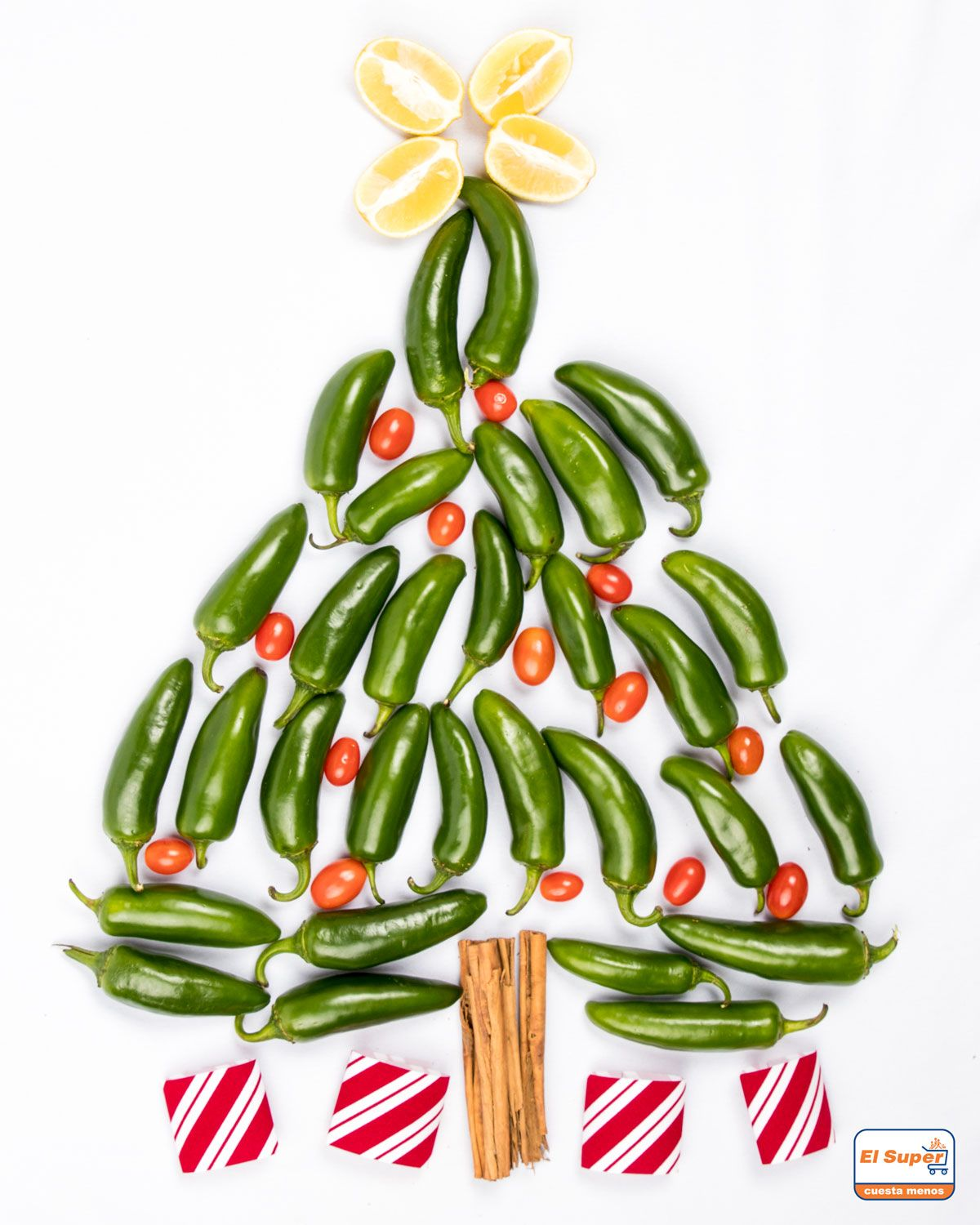 Happy Holidays Inspiration: Oh Produce Tree Oh Produce Tree 🎶 Merry Christmas
