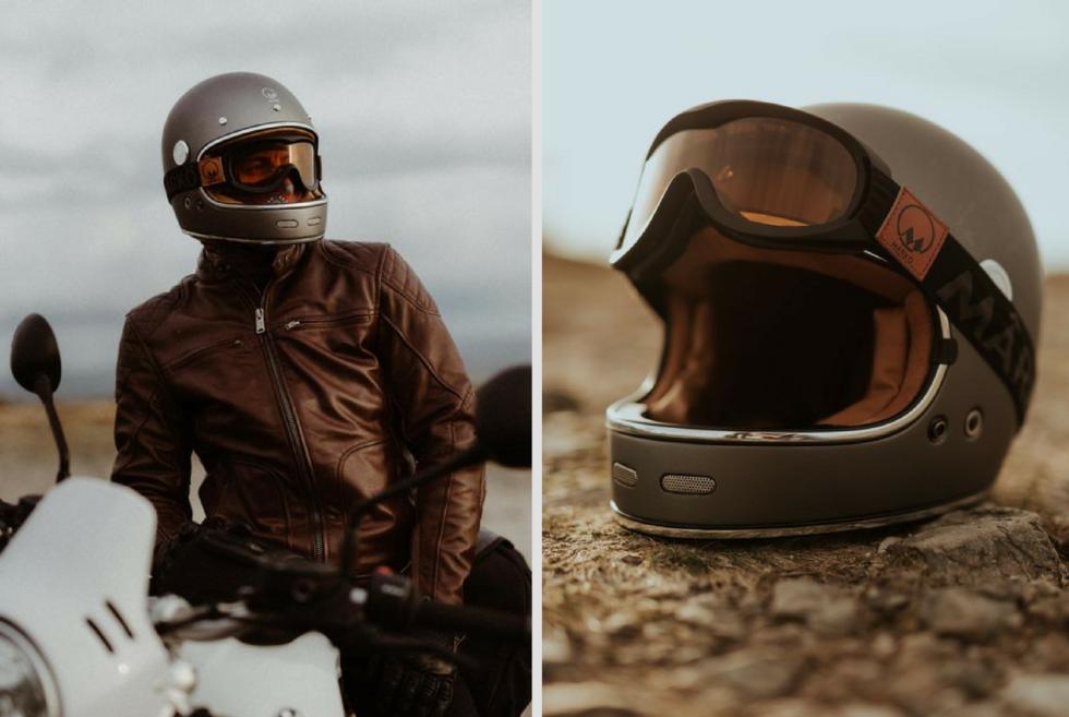 Marko Full Moon Motorcycle Helmet Men S Gear Motorcycle Helmets Vintage Helmet Motorcycle Helmets