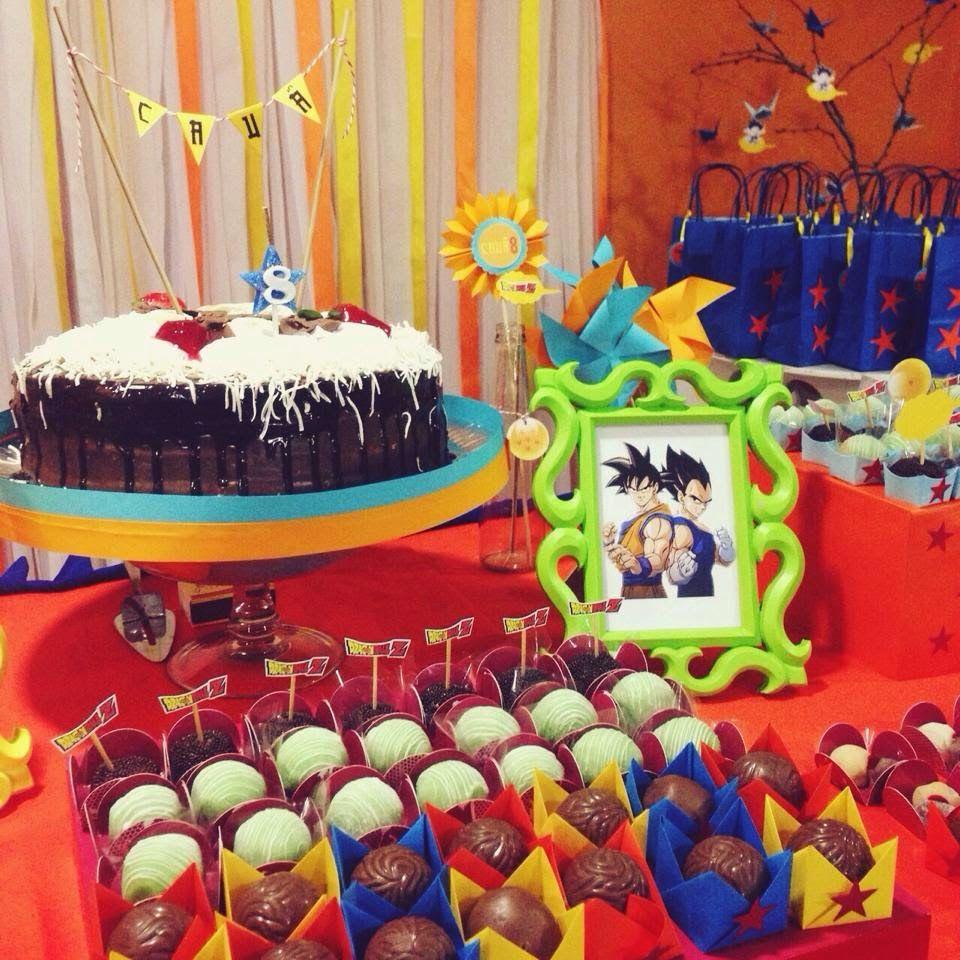 Mirella Burity festa aniversrio Dragon Ball Z Dragon ball z