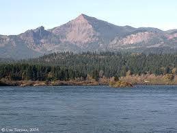 Bridge of the Gods to Table Mountain, Washington
