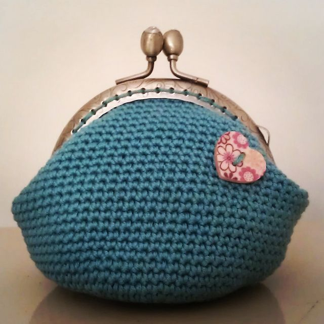 witchnofret\u0027s Turquoise Crochet Purse Turquesa, Ravelry y Croché