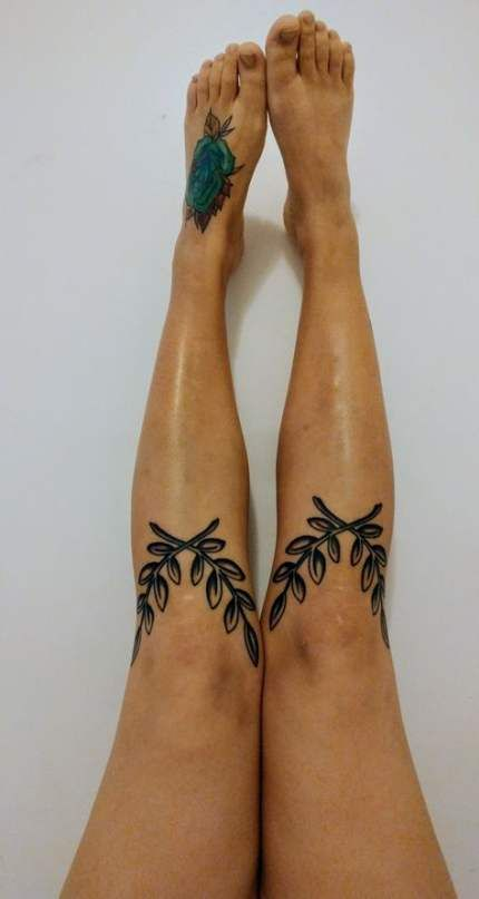 53  Ideas for tattoo back leg branches