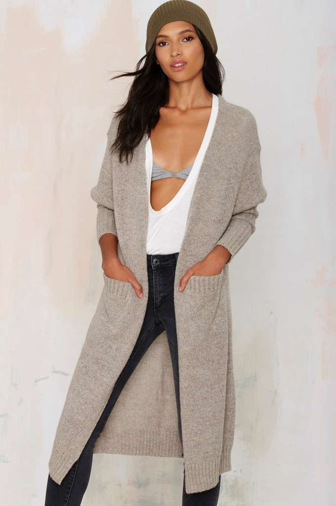 So Heated Duster Cardigan | Wear with Black pants or midi skirt ...