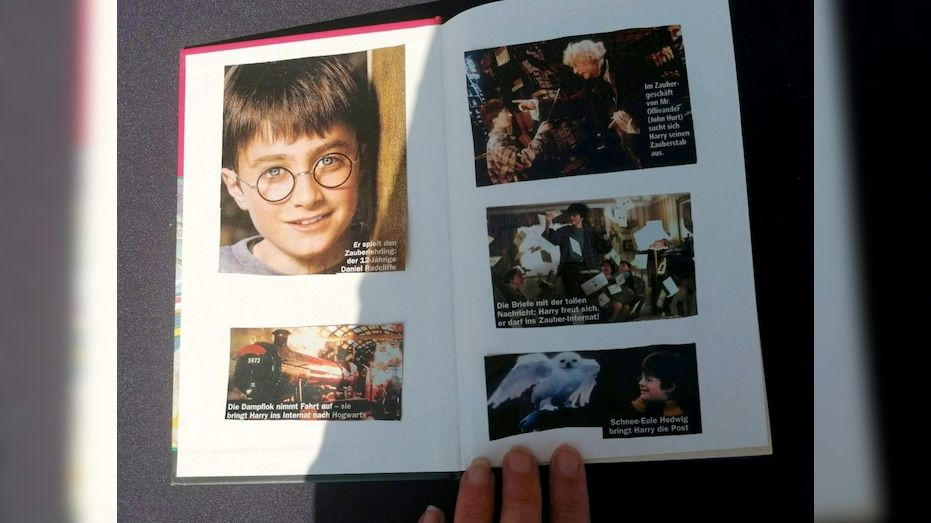 Rare Holy Grail Harry Potter Book Could Be Worth 65g After It Was Found Sitting On A Shelf Fox Bu Harry Potter Book Harry Potter Harry Potter Pictures