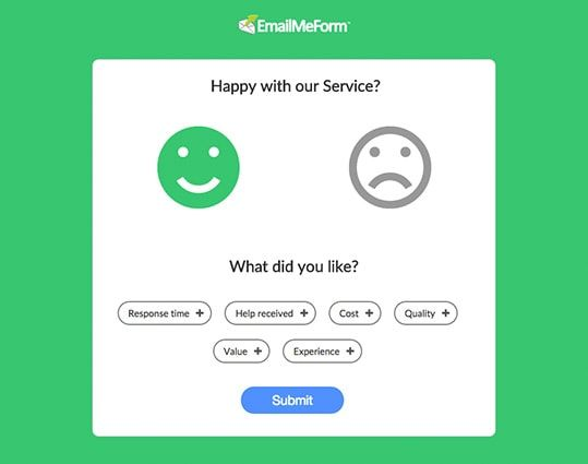 Emoji Feedback Form LIB promoting our library Pinterest - feedback survey template