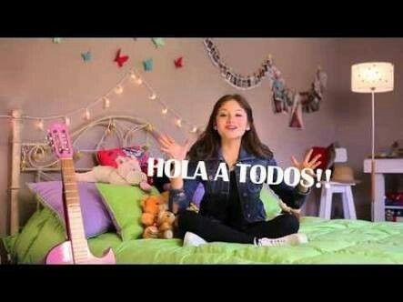Me encantan sus vídeos tan lindos como ella