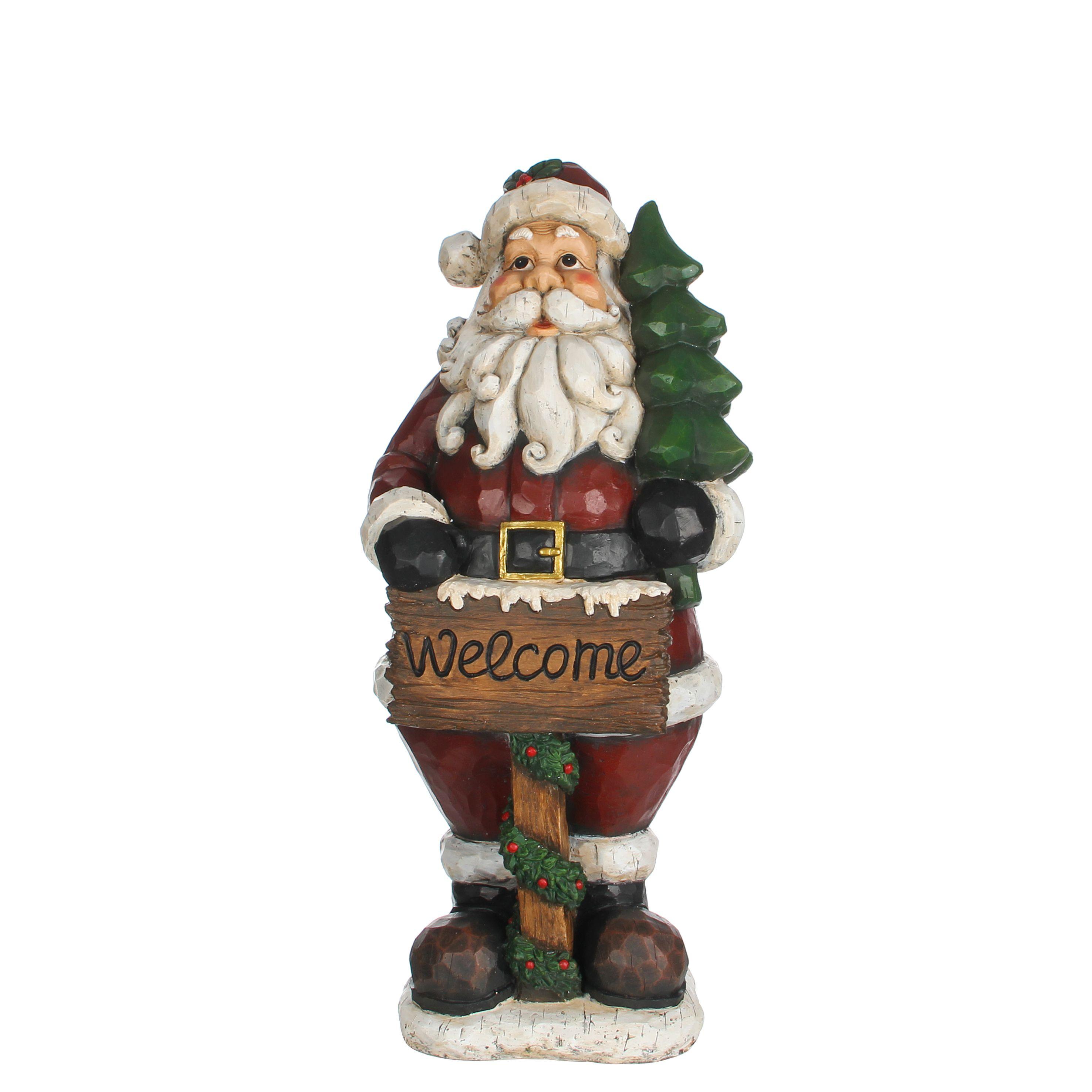 Zet Deze Gezellige Kerstman Bij De Deur Of In De Tuin Om Ook Buiten Een Leuke Kerstsfeer Te Maken Www Kerstwereld Nl Kerstman Decoratie Kerstdecoratie