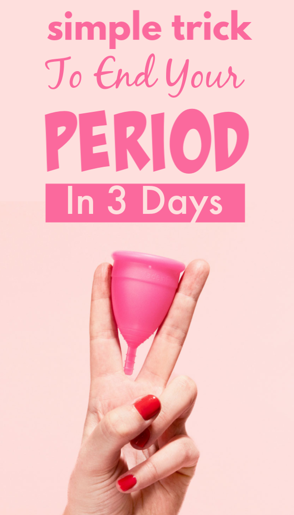 Want to end your period in 3 days, check this trick | Health