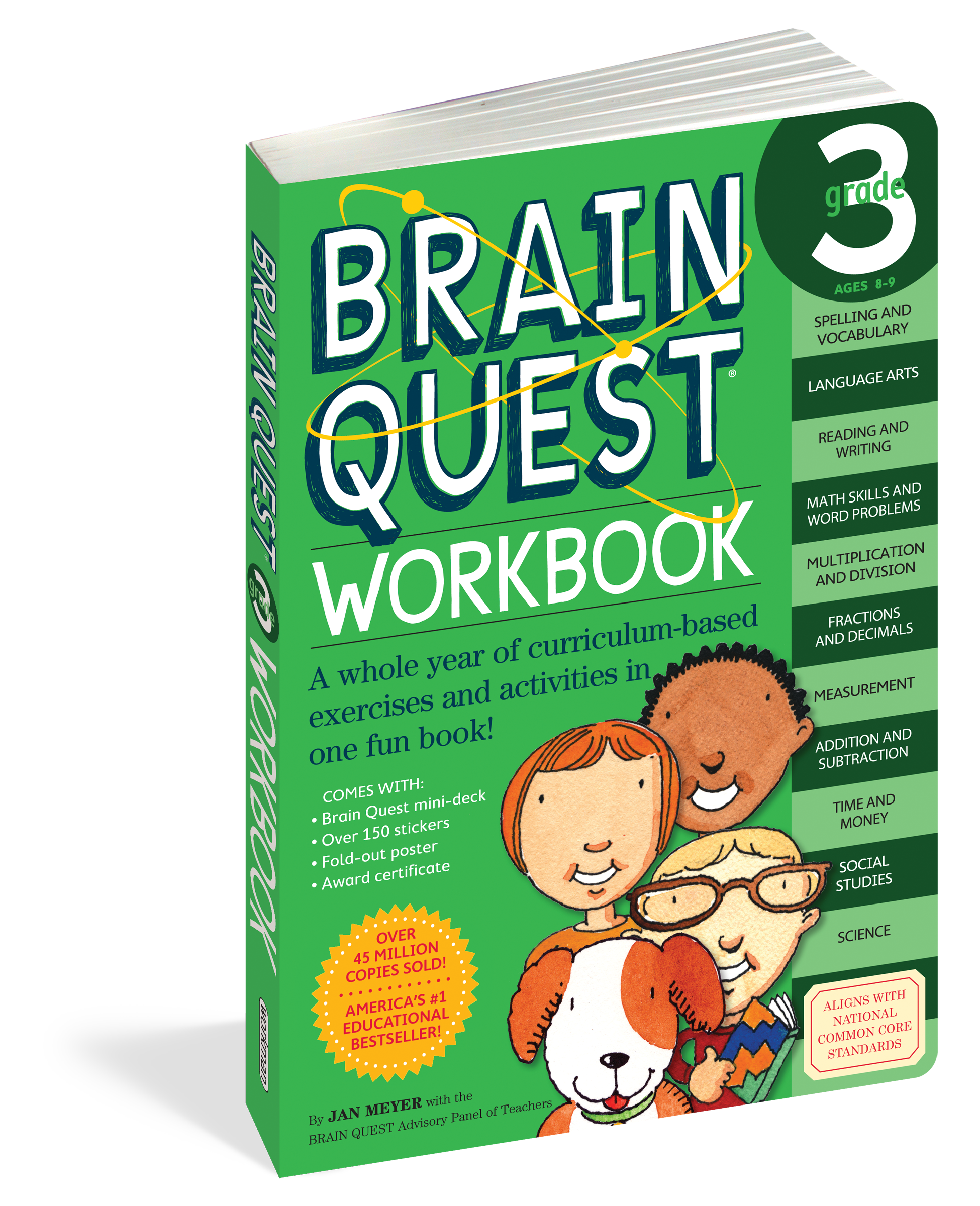 Brain Quest Workbook: Grade 3   Workbook [ 2400 x 1950 Pixel ]