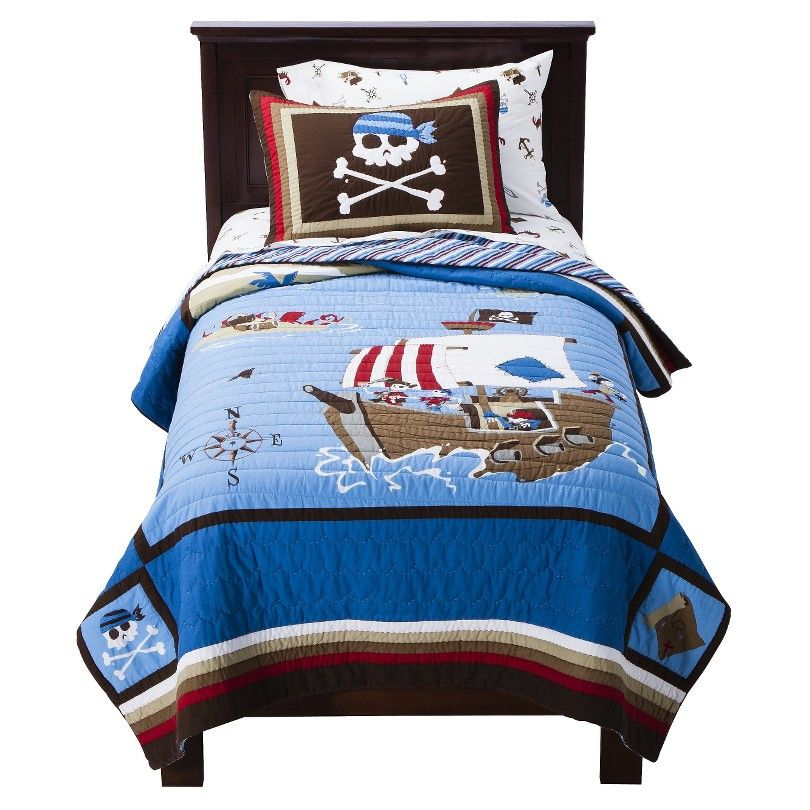 Circo 174 Pirate Quilt Set From Target With Images