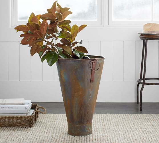 Galvanized Vase Paint Pinterest Paint Finishes Barn And