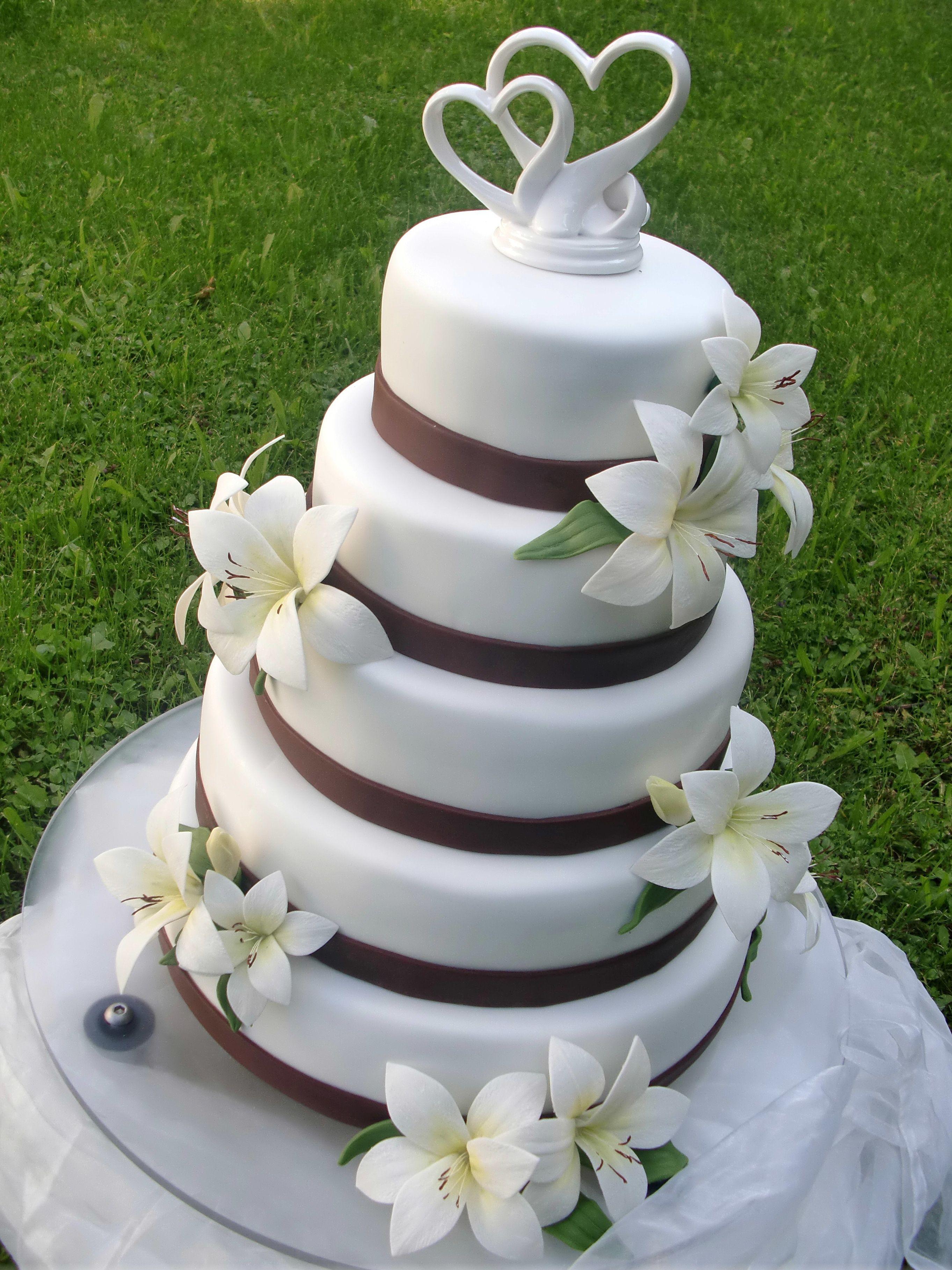 Hochzeitstorte Lili  tortentraumde  Hochzeitstorte