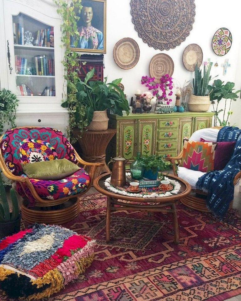40+ Awesome Boho Chic First Apartment Decor Ideas # ...