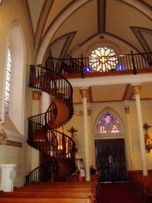 Best Spiral Staircase At Loretto Chapel True Story About This 640 x 480
