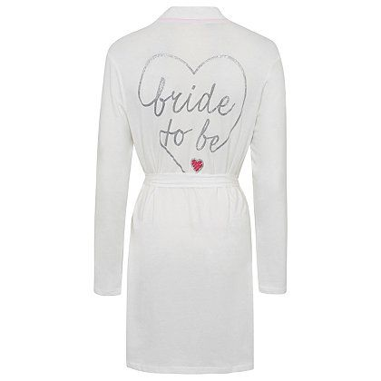 441d17b0e Bride-To-Be Dressing Gown | Women | George at ASDA | Wedding | Gowns ...