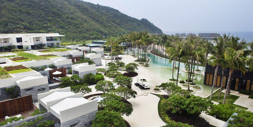 WOHA: intercontinental sanya resort
