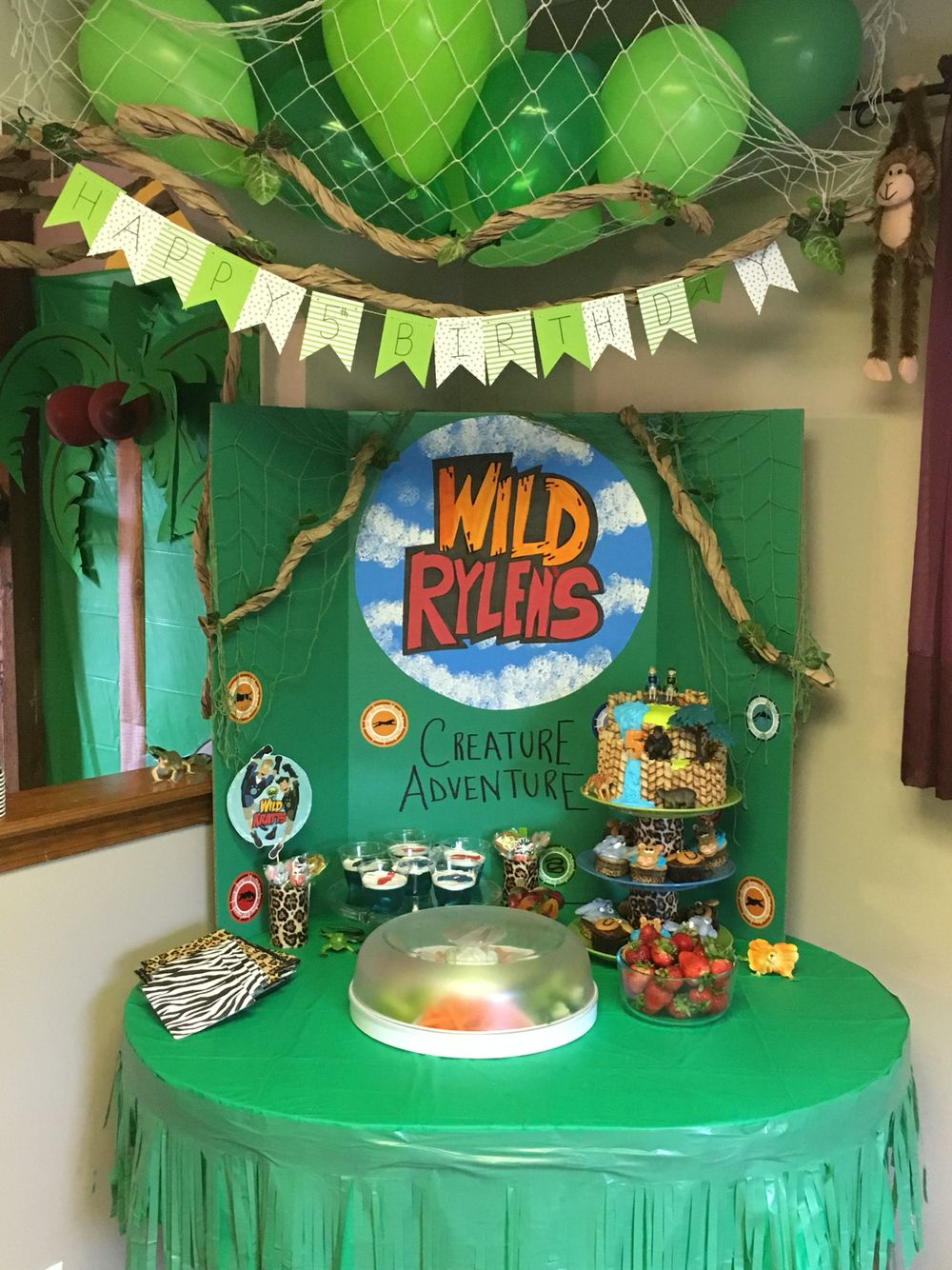 Stupendous Wild Kratts Party Wild Kratts Party Boy Birthday Parties Wild Personalised Birthday Cards Akebfashionlily Jamesorg