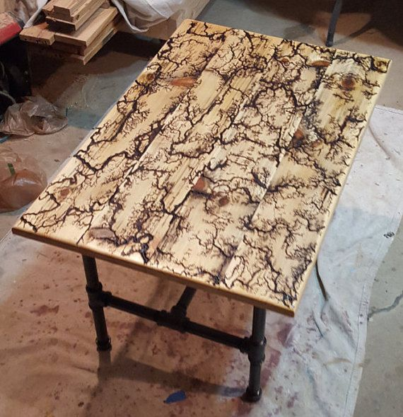 Lightning Coffee Table By KnottyKoncepts On Etsy