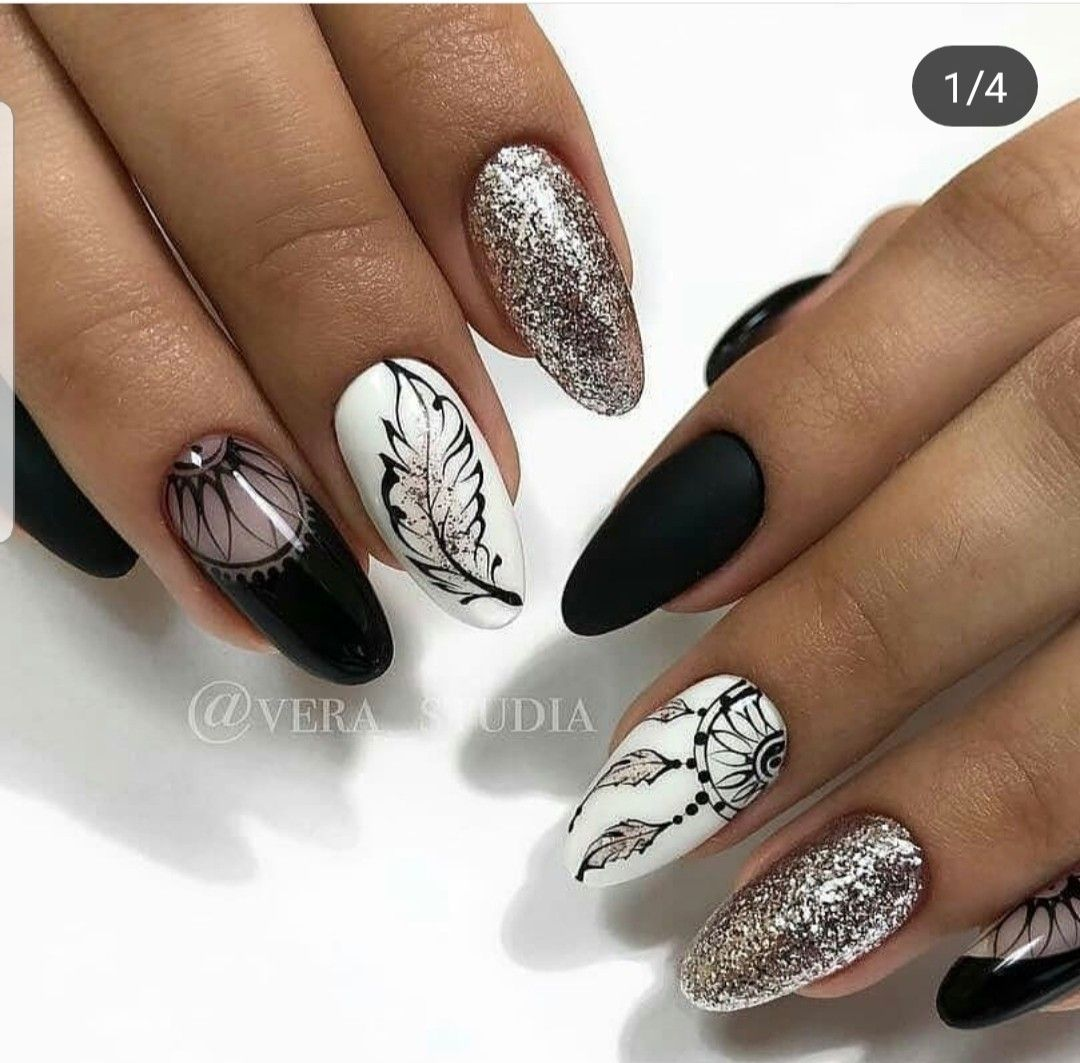 Pin By Edyta Wojcik On Fajne Wzory With Images Manicure Na