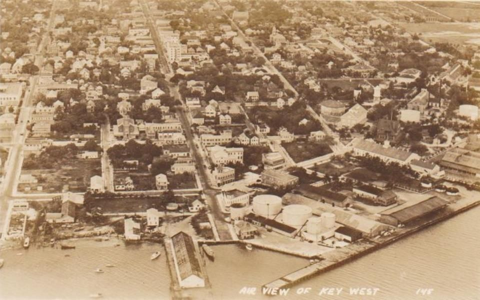 Aerial View Old Key West Key West Vacation Trips History Travel