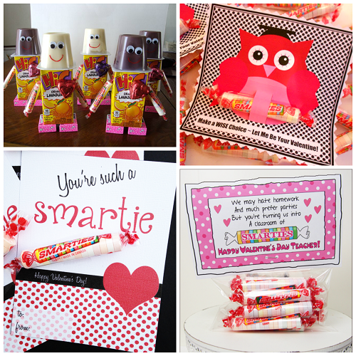 valentine ideas for kids using smarties candy - Boy Valentine Gifts
