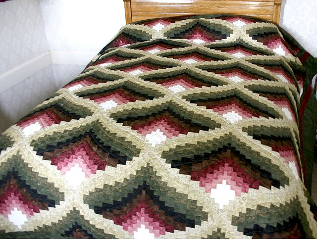 Amish Light In The Valley Quilt Pattern Light In The